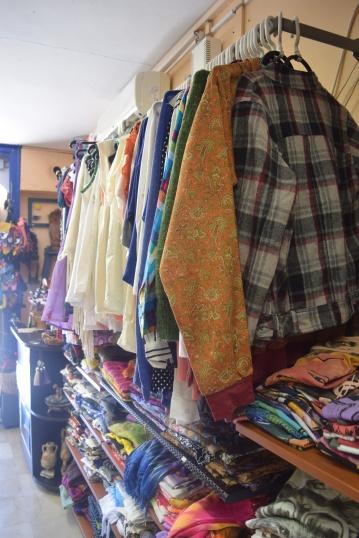 A little shop where I bought a sarong